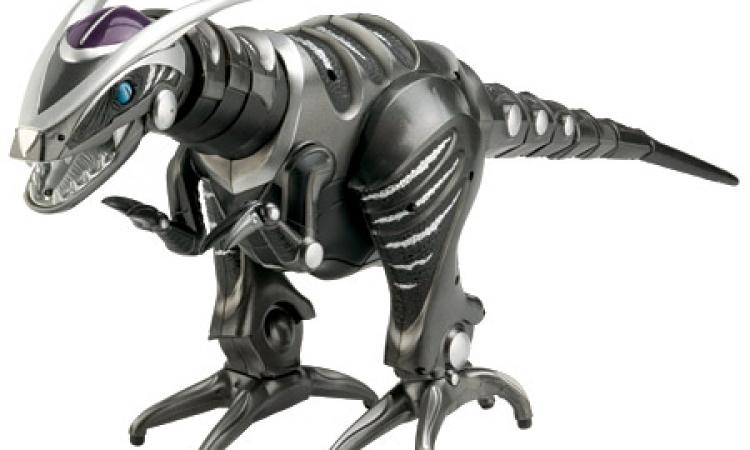 روبوت بشكل ديناصور يتغلب على أوسين العداء العالمي