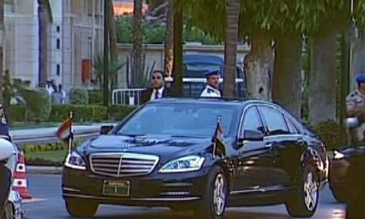 بالفيديو والصور.. وصول موكب «السيسي» إلى قصر القبة لحضور احتفال تسليم السلطة