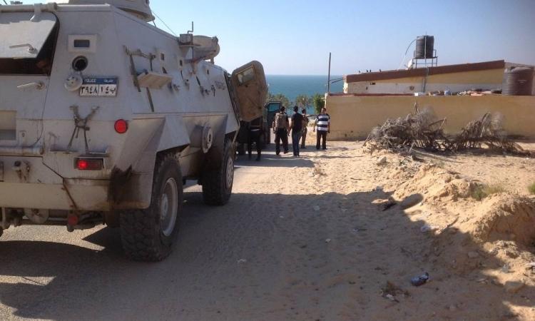 ضبط 55 مطلوبا و206 مخالفات مرورية في شمال سيناء