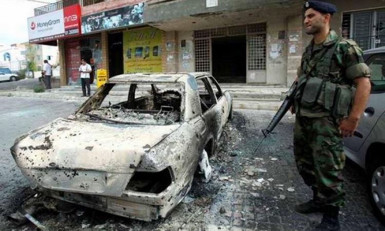 قتيلان وعدد من الجرحى في أنفجار حاجز أمني بطريق بيروت دمشق