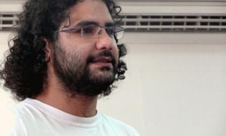 """المحكمة تشاهد الفيديوهات فى اعادة محاكمة علاء عبد الفتاح بـ""""احداث الشورى"""""""