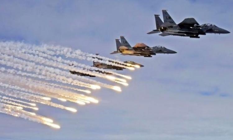 سكاى نيوز: غارات على داعش بدير الزور والرقة