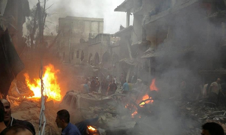 طائرات سورية تقصف بلدات تسيطر عليها «داعش»
