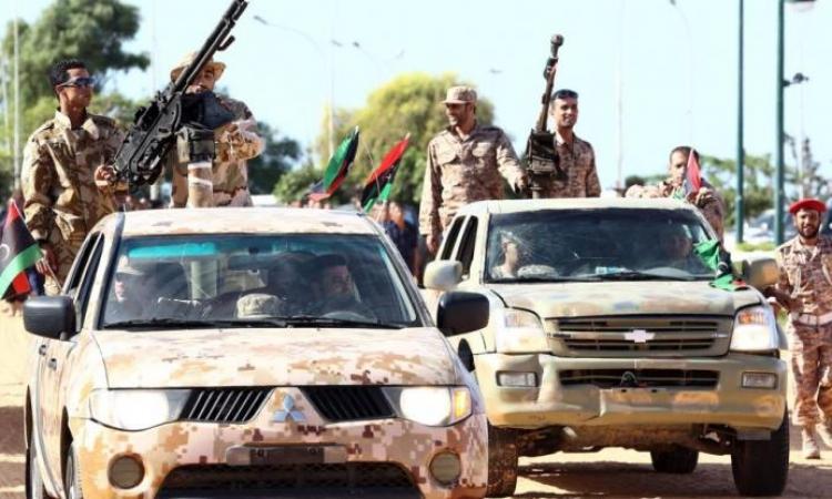 """""""ثوار ليبيا"""" تعلن النفير العام لمواجهة قوات حفتر"""