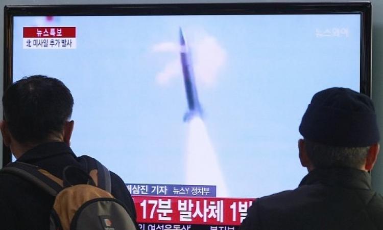 كوريا الشمالية تختبر صاروخين باليستيين