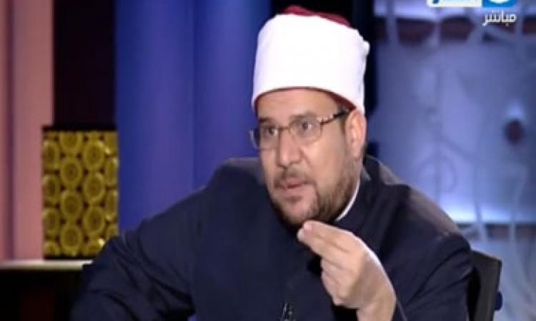بالفيديو.. وزير الأوقاف: أبلغت «مخيون» أن قانون «ممارسة الخطابة» سيطبق على الجميع