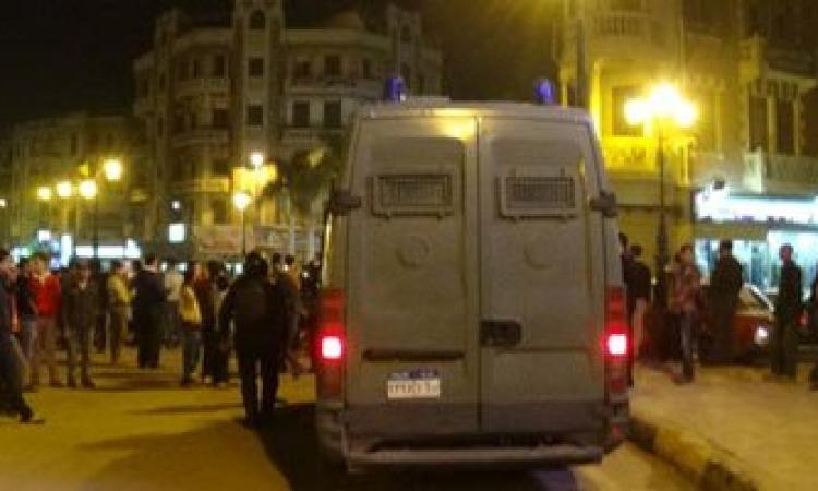 الأمن يفرق مسيرة لأنصار مرسي في العريش