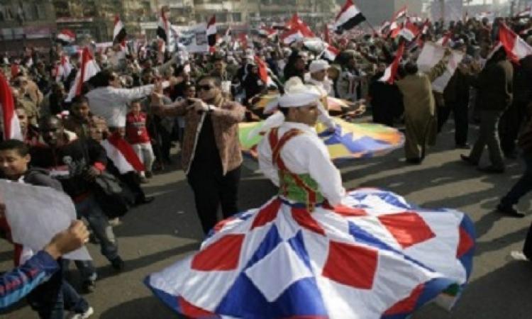 أجواء احتفالية بميدان التحرير بعد أداء الرئيس السيسي اليمين