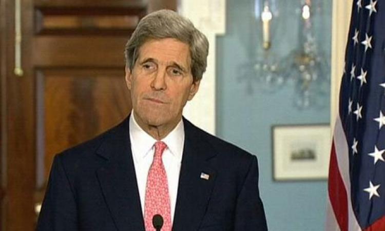 كيرى يصل أفغانستان لتسوية أزمة الانتخابات الرئاسية