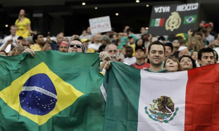 جورادادو نجم المكسيك: منتخبنا الذي يواجه البرازيل اليوم غير منتخب القارات