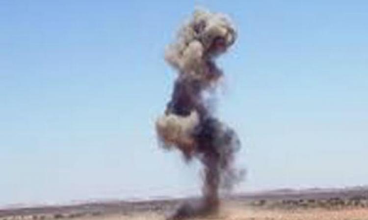 انفجار عبوة ناسفة بالشيخ زويد اسهدفت قوات أمن دون خسائر