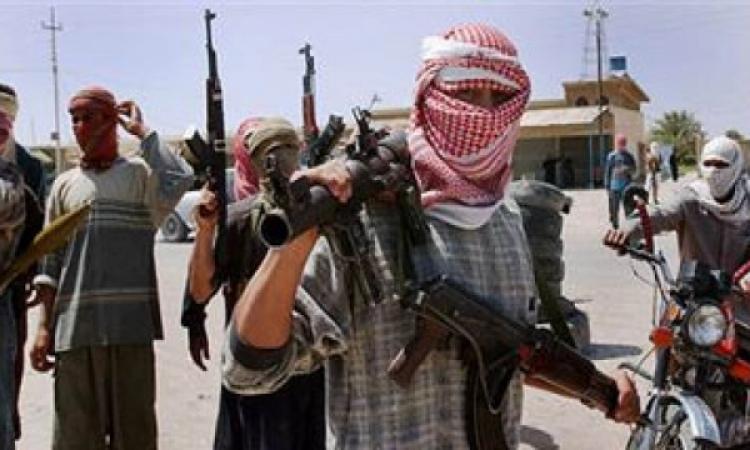 تعدى عناصر الارهابية على سيارة شرطة بالزيتون
