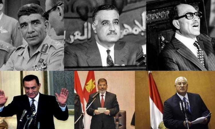 بالصور …أين أدى رؤساء مصر اليمين الدستورية