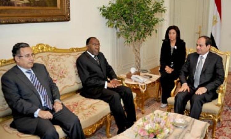 السيسي: لدى مصر تصور للتعاون الأفريقى بخبرات وثروات القارة ولصالح شعوبها