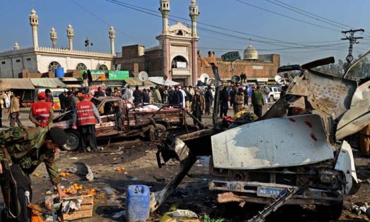 مقتل 4 من أفراد الشرطة فى انفجار بجنوب أفغانستان