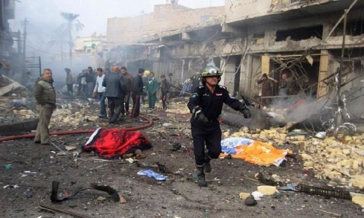 قوات الجيش العراقى تحاصر مبنى جامعة الأنبار لتحرير الطلبة الرهائن