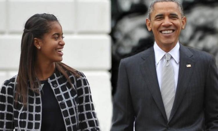 ماليا اوباما  تتجه الى هوليود في مسلسل تلفيزيوني جديد
