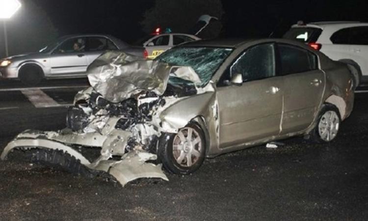 إصابة خمسة مواطنين بالسويس في انقلاب سيارتين بطريق الإسماعيلية والقطامية