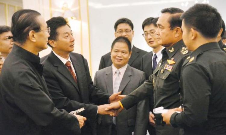 وفد عسكرى تايلاندى يتوجه للصين لاجراء محادثات حول الأمن الإقليمى