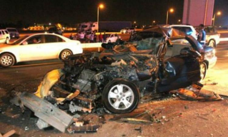 مصرع وإصابة 13 شخصا في حادث تصادم بقنا