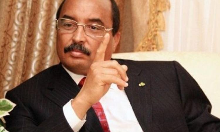 رئيس موريتانيا المرشح يدعو المواطنين الى المشاركة في الانتخابات الرئاسية