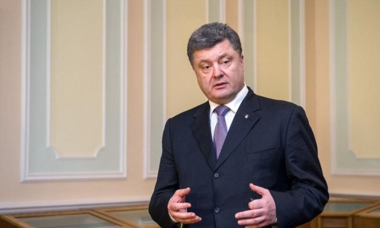 «بوروشينكو» يؤدى اليمين الدستورية رئيسا جديدا لأوكرانيا