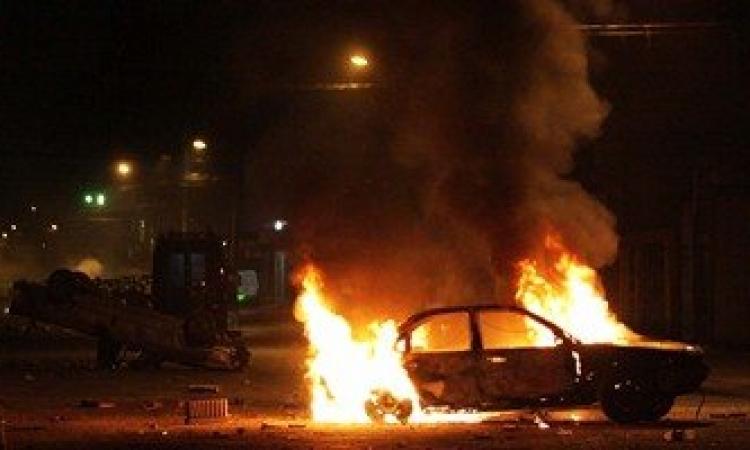 السيطرة علي حريق بأبراج عثمان بالمعادى وأحتراق 13 سيارة