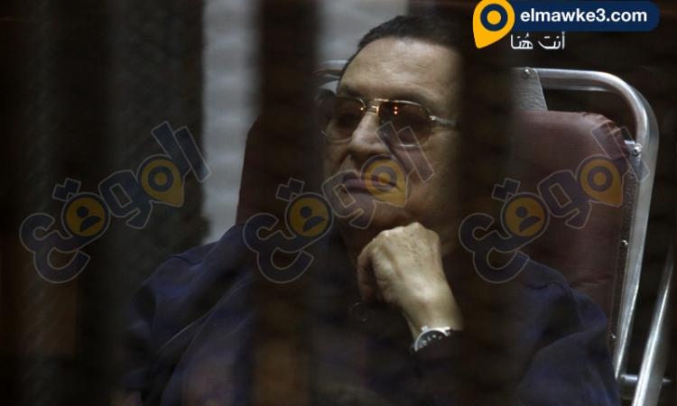 صور جلسة محاكمة القرن للرئيس السابق حسني مبارك