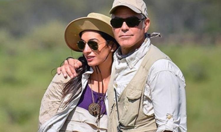جورج كلوني يتزوج من فتاة من أصل عربي بفينيسيا