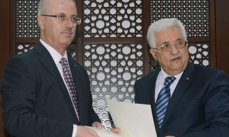 حكومة التوافق الفلسطينية تؤدي اليمين الدستوري