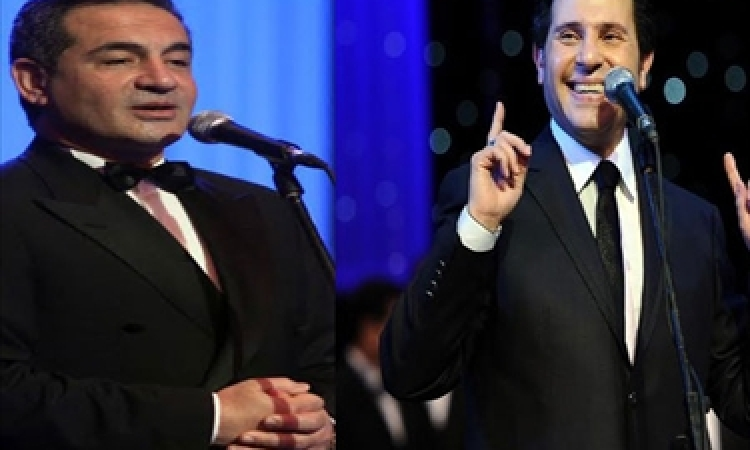 """محمد ثروت وهانى شاكر يغنيان """"في حب مصر"""" الخميس والأحد المقبلين بدار الأوبرا"""