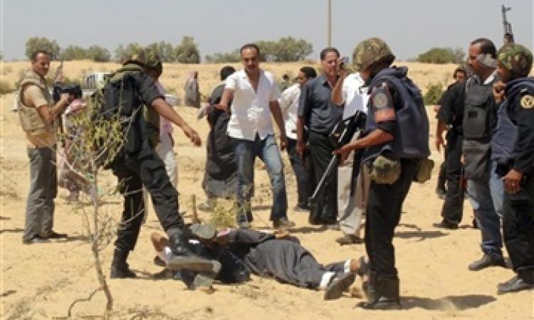 ضبط 7 عناصر إرهابية كونوا خلية تكفيرية لتنفيذ أعمال عنف ضد الشرطة والجيش