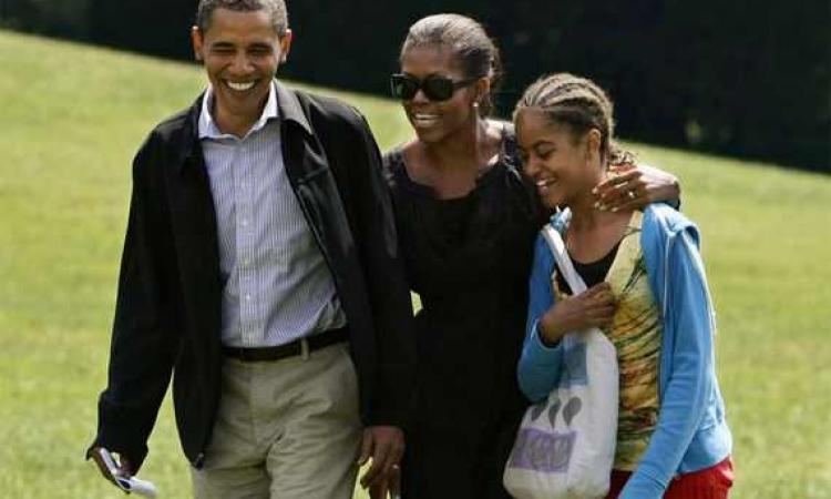 ماليا أبنة أوباما تعمل كمساعد منتج تلفزيوني في الصيف