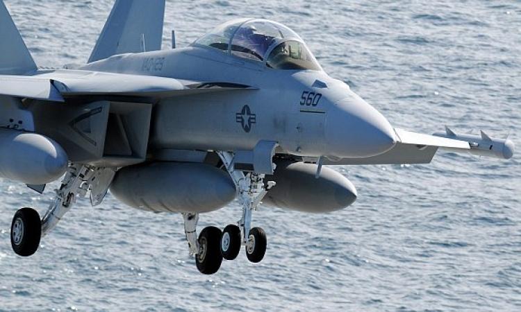 غارات أمريكية بطائرات إف18 فوق العراق لمواجهة داعش