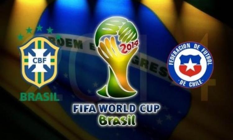 بث مباشر … البرازيل وتشيلي