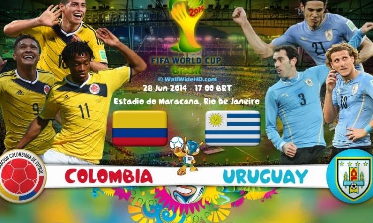 بث مباشر … كولومبيا وأوروجواى