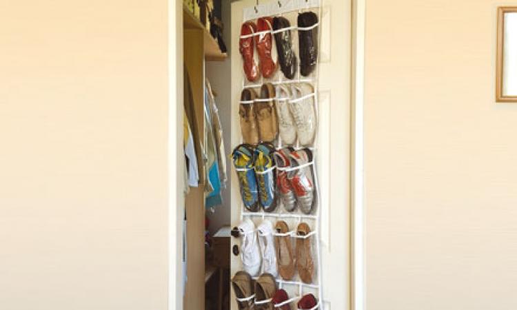 تعرفى على كيفية تخزين الأحذية