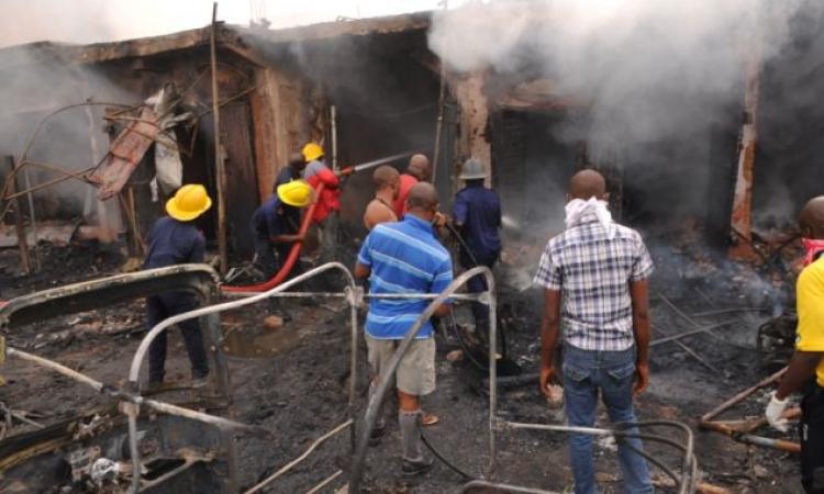 مصرع وإصابة 24 شخصا  فى تفجير «بيت للدعارة» بشمال نيجيريا