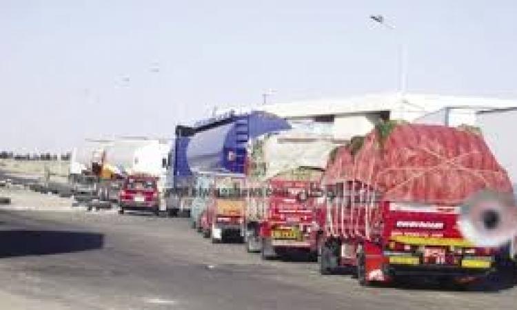 إنتهاء أزمة الشاحنات المصرية المحتجزة بمنطقة البريقة الليبية