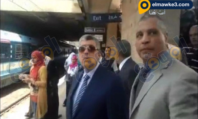 بالفيديو.. وزير الداخلية يتفقد الخدمات الامنية بمحطة مترو غمرة