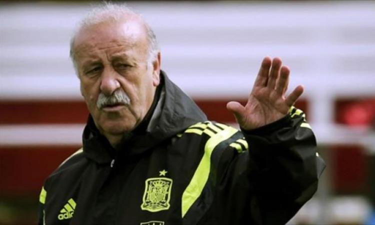 مفاجأة: إسبانيا تبقي علي ديل بوسكي حتى 2016 بعد فضيحة كأس العالم