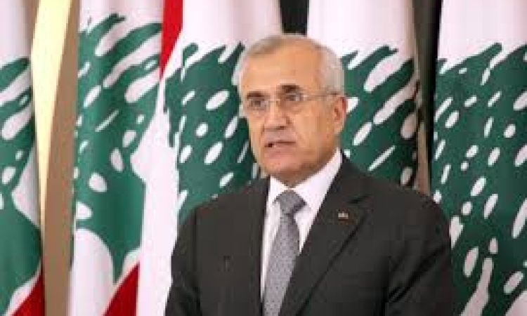 تعليق الرئيس اللبناني المنتهيه ولايته العماد ميشال سليمان علي الوضع اللبناني الحالي