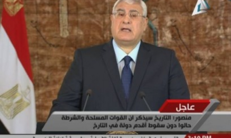 بالفيديو.. منصور باكياً: مصر في حاجة ملحة إلى تجديد الخطاب الديني ونشر التعاليم السمحة