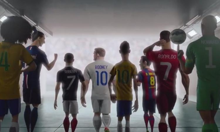 نجوم العالم يواجهون المستنسخون لإنقاذ كرة القدم