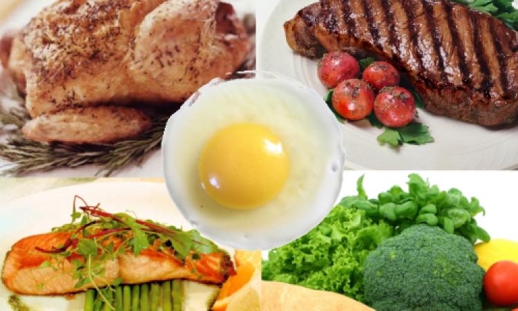 النظام الغذائي الغني بالبروتينات يساعد فى الوقاية من السكتات الدماغية