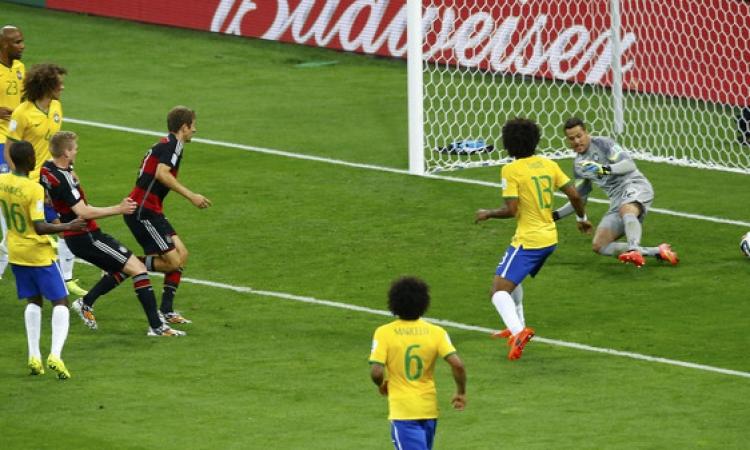 بالفيديو … ألمانيا تلحق بالبرازيل أكبر هزيمة في تاريخها و تسحقها بسباعية