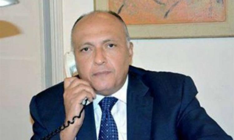 وزير الخارجية يتصل بنظيره المغربي لإزالة آثار إساءة أماني الخياط