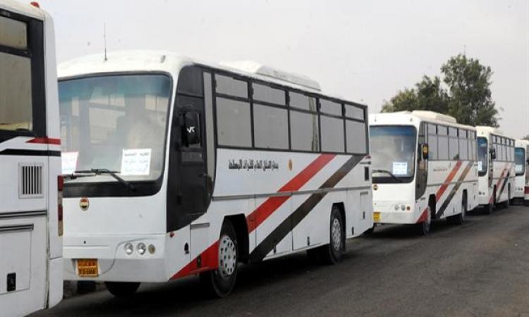 تسيير حافلات للجيش لنقل المواطنين بأسعار رمزية من 6 ص حتى 6 م