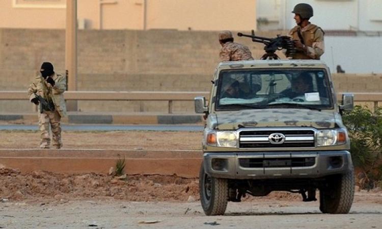 38 قتيلا و60 جريحا في اشتباكات بين الجيش الليبي وانصار الشريعة ببنغازي