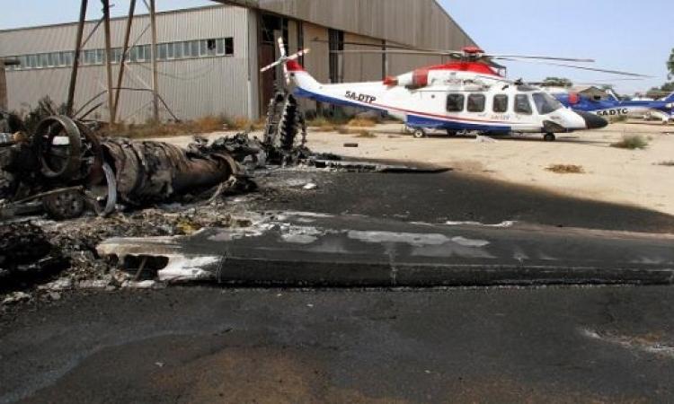 لليوم السابع على التوالي .. اشتباكات عنيفة في محيط مطار طرابلس